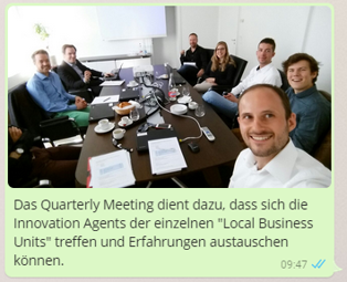 Update zu Quaterly Meeting